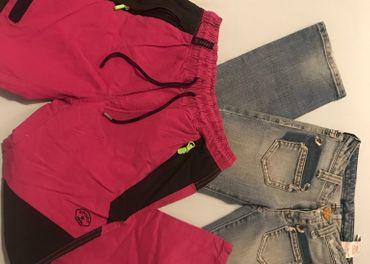 Predám balíček dievčenského  oblečenia veľkosť 140