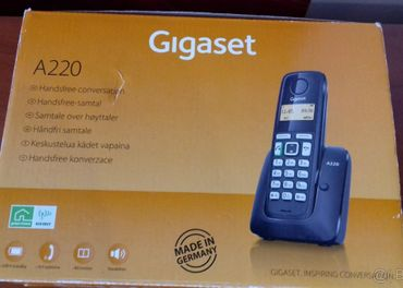 Bezdrôtový, bezšnúrový telefón GIGASET A220