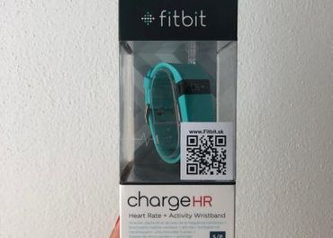 fitbit hodinky, FITBIT CHARGE HR HEART RATE