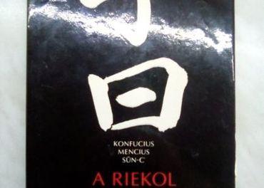 Predám knihu : Konfucius Mencius Sun-C - A riekol