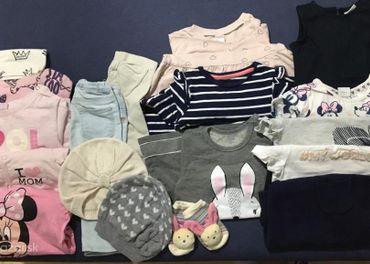 Balík detského oblečenia