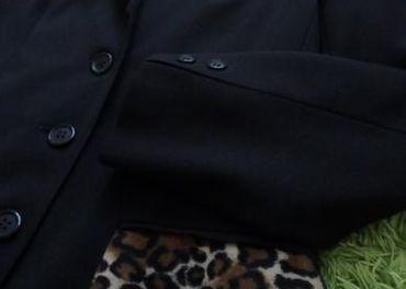 Čierne elegantné sako zn. MAKYTA, L/XL