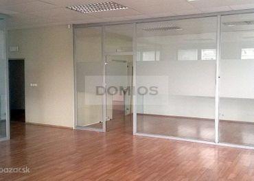 DOMIOS  prenájom klimatiz. admin. a obchod. priestorov v modernom BC (3.200 m2, parking)