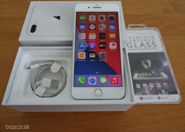 SILVER APPLE IPHONE 8 PLUS 64GB