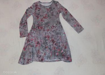 šaty pre 6-7 roč.