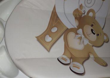 Detská vanička s prebaĺovacím pultom zn. CAM.