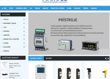 Marweb Predaj prístrojov a regulátorov
