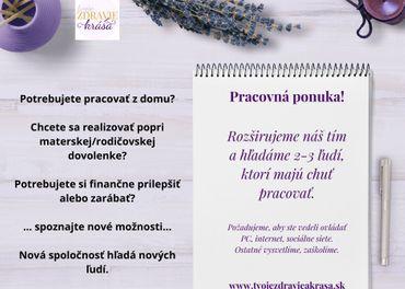 Práca z domu - Nová spoločnosť hľadá nových ľudí - Celá SR