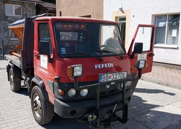 Gasoline Effedi FD 35 4x4 + sklápač+ sypacia nadstavba