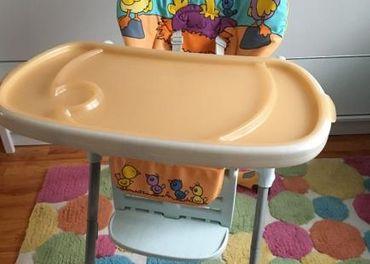 Detská jedálenská stolička Chicco
