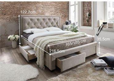 Nová-Manželská posteľ 180 cm OREA