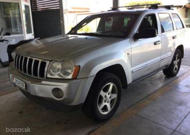 Jeep Grand Cherokee 3.0 CRD Limited SK ŠPZ !!!AKCIA 12 mesačná záruka!!!