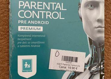Eset parental control premium pre Android