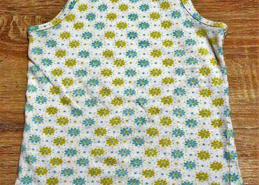 Kvetinkové tričko Lupilu veľkosti 86-92