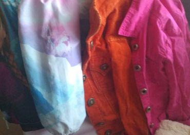 oblečenie a obuv pre 3-4 dievčatko