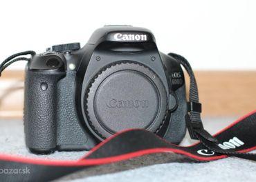 Predám digitalnu zrkadlovku Canon EOS 600D