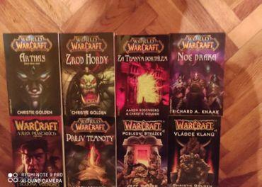 Warcraft/ World of Warcraft knihy CZ jazyk