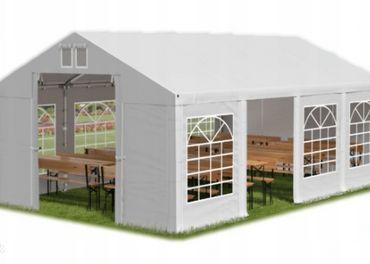 5x10m 2-2,91m záhradný párty stan / vystužený