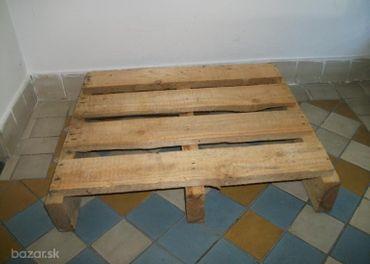 Skladová izolačná, drevená podložka 65x54x12cm