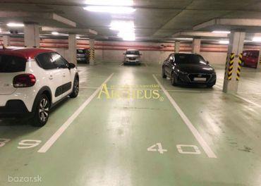PRENÁJOM: parking v podzemnej garáži, Uzbecká, P.Biskupice