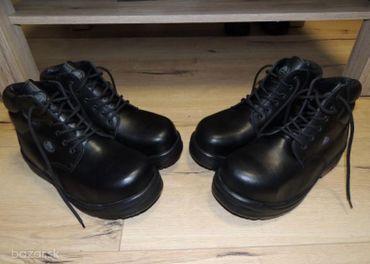 Celokožené nízke kanady Baťa safety shoe