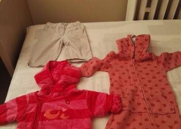 Balík kojeneckého oblečenia (tri veľké tašky)