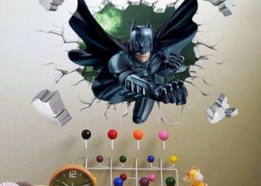 dekoračná nálepka Batman