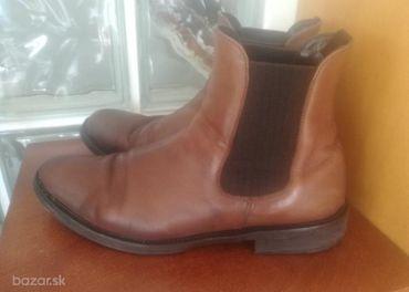 Pánske kotníkové topánky POLINNI