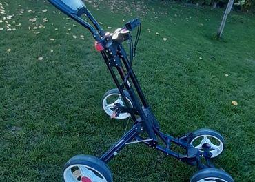 Golfový vozík Dunlop DP1 - štvorkolečkový