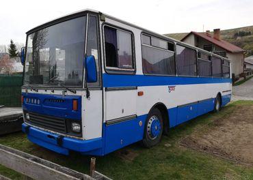 Karosa LC 743 1988 plne funkčná a pojazdná bez TP a ŠPZ