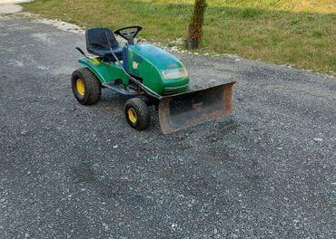 Traktor s radlicou