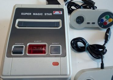 Super magic star Sono 8 bitova sega mega tv hra Super magic
