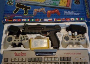 Educational computer 8 bitova sega mega tv hra. obsahuje tet