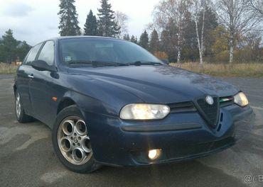 Na predaj ALFA ROMEO 156 Sportwagon, 1.9 JTD nafta, 77 kW.