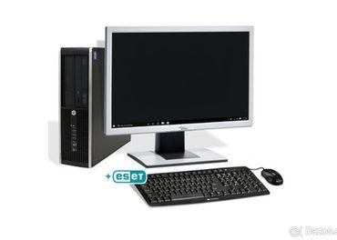 Kancelársky počítač + monitor + klávesnica s myšou