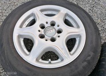 Alu Sada = 5x112 = BBS = s pneu = 205/60 R15