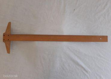 Logarex, rysovacie pravítko, 71 cm