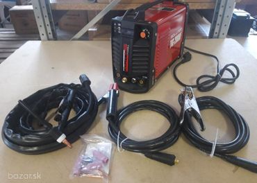 Zvárací invertor MMA+TIG s HF 200A s príslušenstvo