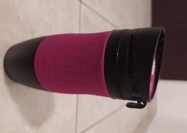 Termofľaša čierno-ružová