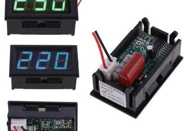 Voltmeter digitalny AC alebo DC