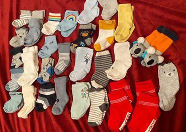 Set 33 ponožiek 0-9mes