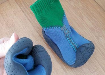 Ponozky ako papucky + kroksy