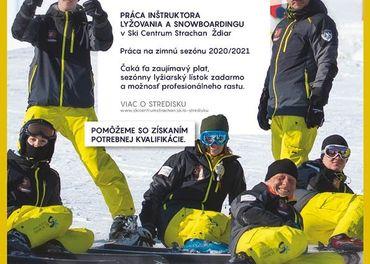 Inštruktor lyžovania a snowboardingu