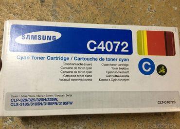 Original toner Samsung 4072 do CLP-32x CLX-318x - 3 farby