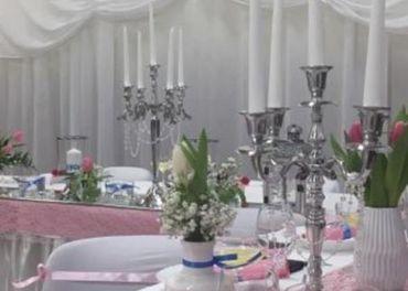 Výzdoba a úprava miestností pre slávnostné príležitosti