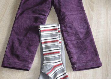 Vyteplené nohavice veľkosť 116
