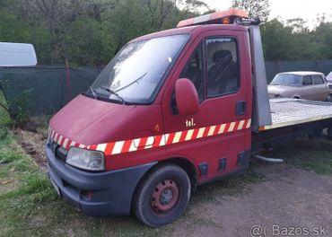 Predám odťahovku Peugeot Boxer -súrne- znížená cena - DOHODA