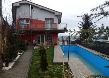 Ponúkame na predaj moderný rodinný dom UP 320m2 v TOP lokalite pod lesom, VIS,OV, BRATISLAVA-III., č