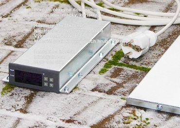 Vyhrievacia podlozka 31x31x1cm na 230V s termostatom