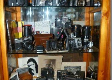 Starožitné fotoaparáty